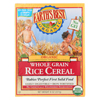 Earth's Best Organic Whole Grain Rice Infant Cereal - Case of 12 - 8 oz. HGR 0957613