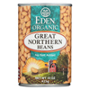 Ring Panel Link Filters Economy: Eden Foods - Great Northern Beans Organic - Case of 12 - 15 oz.