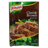 Knorr Gravy Mix - Classic Brown - 1.2 oz.. - Case of 12 HGR 0100867