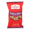 Drizzled Kettlecorn - Black & White - Case of 12 - 6 oz.
