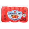 San Pellegrino Sparkling Water - Aranciata Rossa - Case of 4 - 11.1 Fl oz.. HGR0101741