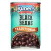 Kuner Black Beans - Case of 12 - 15 oz. HGR 0101840