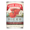 Muir Glen Fire Roasted Diced Tomatoes - Tomatoes - Case of 12 - 14.5 oz.. HGR0106351