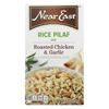 Near East Rice Pilaf Mix - Chicken and Garlic - Case of 12 - 6.3 oz. HGR 0114868