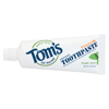 Tom's Of Maine Travel Natural Toothpaste - Fresh Mint, Fluoride - Case of 24 - 3 oz. HGR 01156892