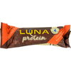 Clif Bar Luna Protein Bar - Chocolate Peanutbutter - Case of 12 - 1.59 oz HGR 117531