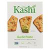 Pita Crisps Garlic Pesto - Pita Crisps - Case of 12 - 7.9 oz.