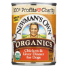 Newman's Own Organics Dog Food - Chicken and Liver - Case of 12 - 12.7 oz. HGR 01193903