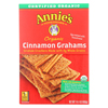 Clean and Green: Annie's Homegrown - Organic Cinnamon Graham Crackers - Case of 12 - 14.4 oz.