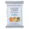 The Daily Crave Veggie Chips - Case of 24 - 1 oz. HGR 01220938