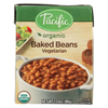 Pacific Natural Foods Baked Beans - Vegetarian - Case of 12 - 13.6 oz. HGR 01224641