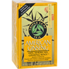 American Ginseng - Caffeine Free - Case of 6 - 20 Bags