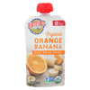 Earth's Best Organic Orange Banana Baby Food Puree - Stage 2 - Case of 12 - 4 oz. HGR 01232362