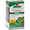Herbal Homeopathy Single Herbs: Nature's Answer - Ginkgo Leaf Extract - 60 Vegetarian Capsules
