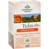 Organic India Tulsi Tea Chai Masala - 18 Tea Bags - Case of 6 HGR 125369