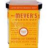 Mrs. Meyer's Soy Candle - Orange Clove - Case of 6 - 4.9 oz Candles HGR 125401