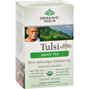 Organic India Tulsi Tea Green Tea - 18 Tea Bags - Case of 6 HGR 125476