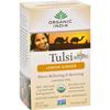 Organic India Tulsi Tea Lemon Ginger - 18 Tea Bags - Case of 6 HGR 125757