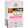 Organic India Tulsi Tea Sweet Rose - 18 Tea Bags - Case of 6 HGR 126144