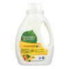Seventh Generation Natural Laundry Detergent - Fresh Citrus - Case of 6 - 50 Fl oz.. HGR 0127092