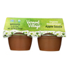 Vermont Smoke and Cure Applesauce - Unsweetened - Case of 12 - 4 oz.. HGR0128918