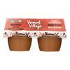 Vermont Village Organic Applesauce - Cinnamon - Case of 12 - 4 oz.. HGR0128926