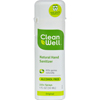 instant gel sanitizers: CleanWell - All-Natural Hand Sanitizer Spray Alcohol-Free - 1 fl oz - Case of 24