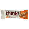 Think Products Thin Bar - Creamy Peanut Butter - Case of 10 - 2.1 oz HGR 0134155