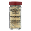 Morton and Bassett Seasoning - Onion with Parsley - Granulated - 2.3 oz.. - Case of 3 HGR 0134767