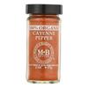 Morton and Bassett Organic Cayenne Pepper - Cayenne Pepper - Case of 3 - 2 oz.. HGR 0135178