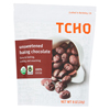 TCHO Chocolate Organic Dark Chocolate Critters - Unsweetened - Case of 12 - 8 oz. HGR 01352251