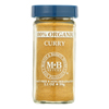 Morton and Bassett Organic Curry - Curry - Case of 3 - 2.1 oz.. HGR 0135301