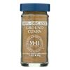 Morton and Bassett Organic Ground Cumin - Cumin - Case of 3 - 2 oz.. HGR 0135376