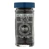 Morton and Bassett Whole Black Pepper - Black Paper - Case of 3 - 2 oz.. HGR 0135764