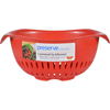 Preserve Small Colander - Red - Case of 4 - 1.5 qt HGR 0137000