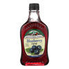 Maple Grove Farms Blueberry Maple Syrup - Case of 12 - 8.5 Fl oz.. HGR 0138917