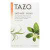Tazo Tea Herbal Tea - Refreshing Mint - Case of 6 - 20 BAG HGR 0140772
