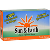Sun and Earth Fabric Softener Sheets Fresh Citrus - 80 Sheets - Case of 6 HGR 141317