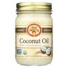 Aunt Patty's Organic Coconut Oil - Case of 6 - 12 fl oz. HGR 01421395