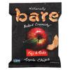 Bare Fruit All Natural Crunchy Apple Chips - Fuji Red - Case of 24 HGR01421593