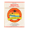 Reed's Ginger Beer Chewy Ginger Candy Rolls - Case of 20 - 2 oz. HGR 0144261