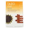 Tazo Teas Spiced Black Tea - Decaffeinated Tazo Chai - Case of 6 - 20 BAG HGR0144287
