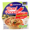 Nong Shim Hot and Spicy Bowl - Noodle Soup - Case of 12 - 3.03 oz.. HGR0147066