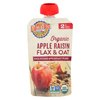 Earth's Best Organic Wholesome Breakfast Apple Raisin Pouch - Case of 12 - 4 oz. HGR 01507615