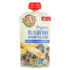 Earth's Best Organic Wholesome Breakfast Blueberry Banana Pouch - Case of 12 - 4 oz. HGR 01507631