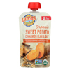 Earth's Best Organic Wholesome Breakfast Sweet Potato Cinnamon Pouch - Case of 12 - 4 oz. HGR 01507649