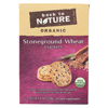 Crackers - Organic Stoneground Wheat - Case of 6 - 6 oz.