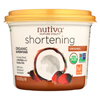 Nutiva Organic Superfood Shortening - Case of 6 - 15 oz. HGR 01524362