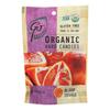 Go Organic Hard Candy - Blood Orange - 3.5 oz.. - Case of 6 HGR 0152777