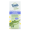 Tom's Of Maine Toothpaste - Toddler Training - Natural - Fluoride Free - Mild Fruit - 1.75 oz. - Case of 6 HGR 01538420